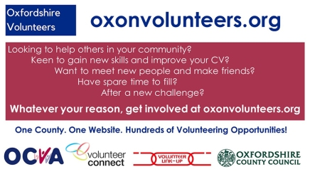 New Countywide Volunteering Website Launches!